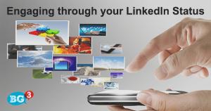 Engaging LinkedIn status