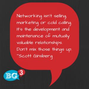 Social Media Networking isn't selling