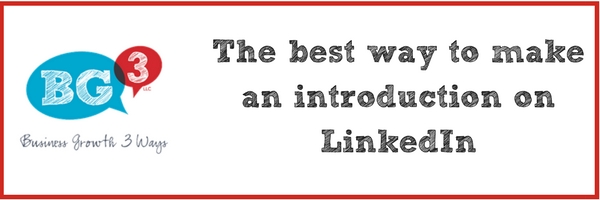 How to make an introduction on LinkedIn