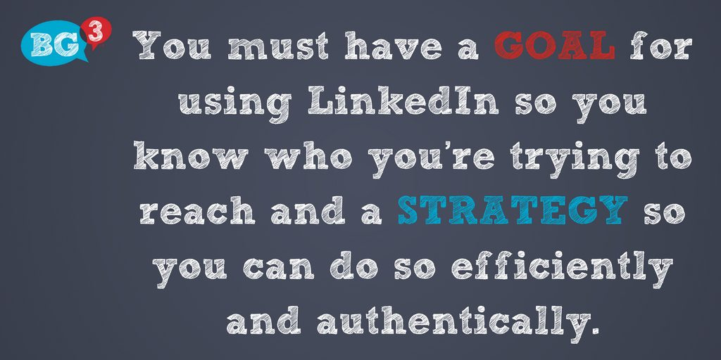 LinkedIn Goal