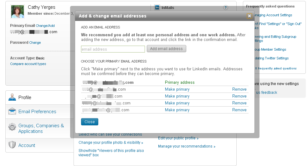 LinkedIn List Management