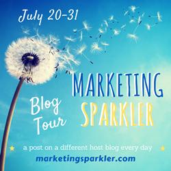 Marketing Sparkler Tour Badge