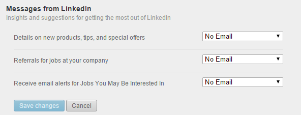 messages from linkedin