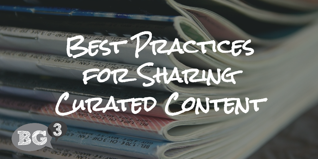 curated content best practices